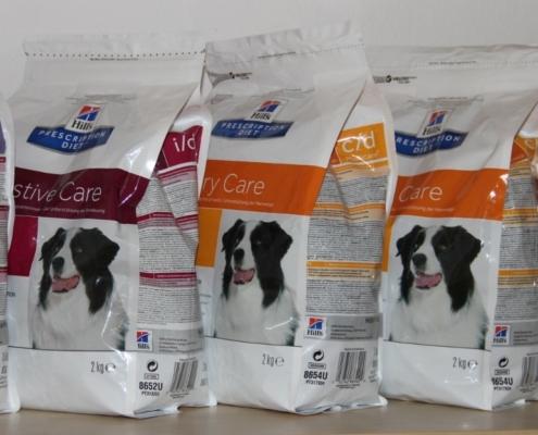 Nabídka veterinárních diet